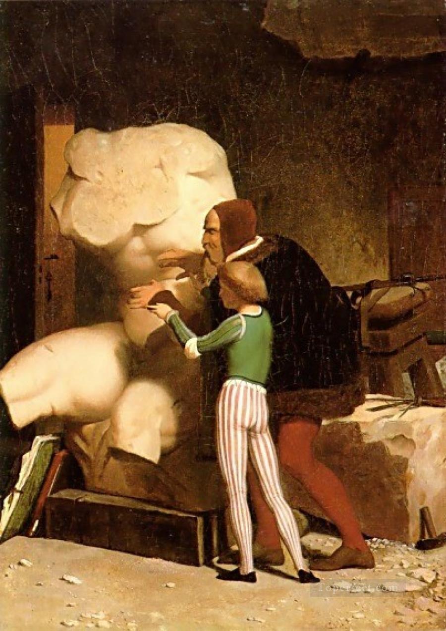 Michelangelo Greek Arabian Orientalism Jean Leon Gerome