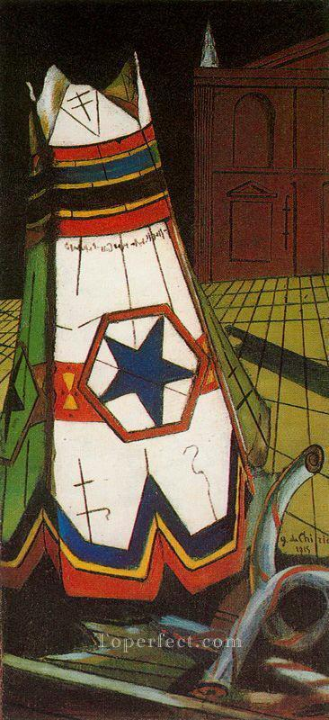 playthings of the prince 1915 Giorgio de Chirico Metaphysical surrealism Oil Paintings