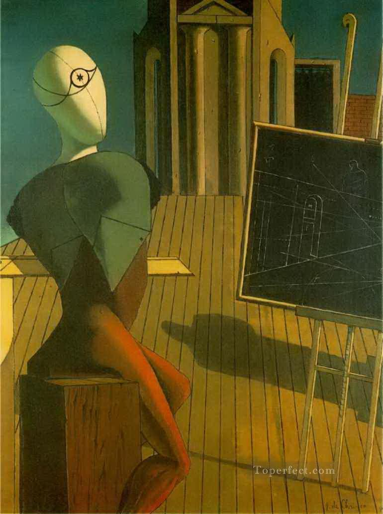 the profit 1915 Giorgio de Chirico Metaphysical surrealism Oil Paintings