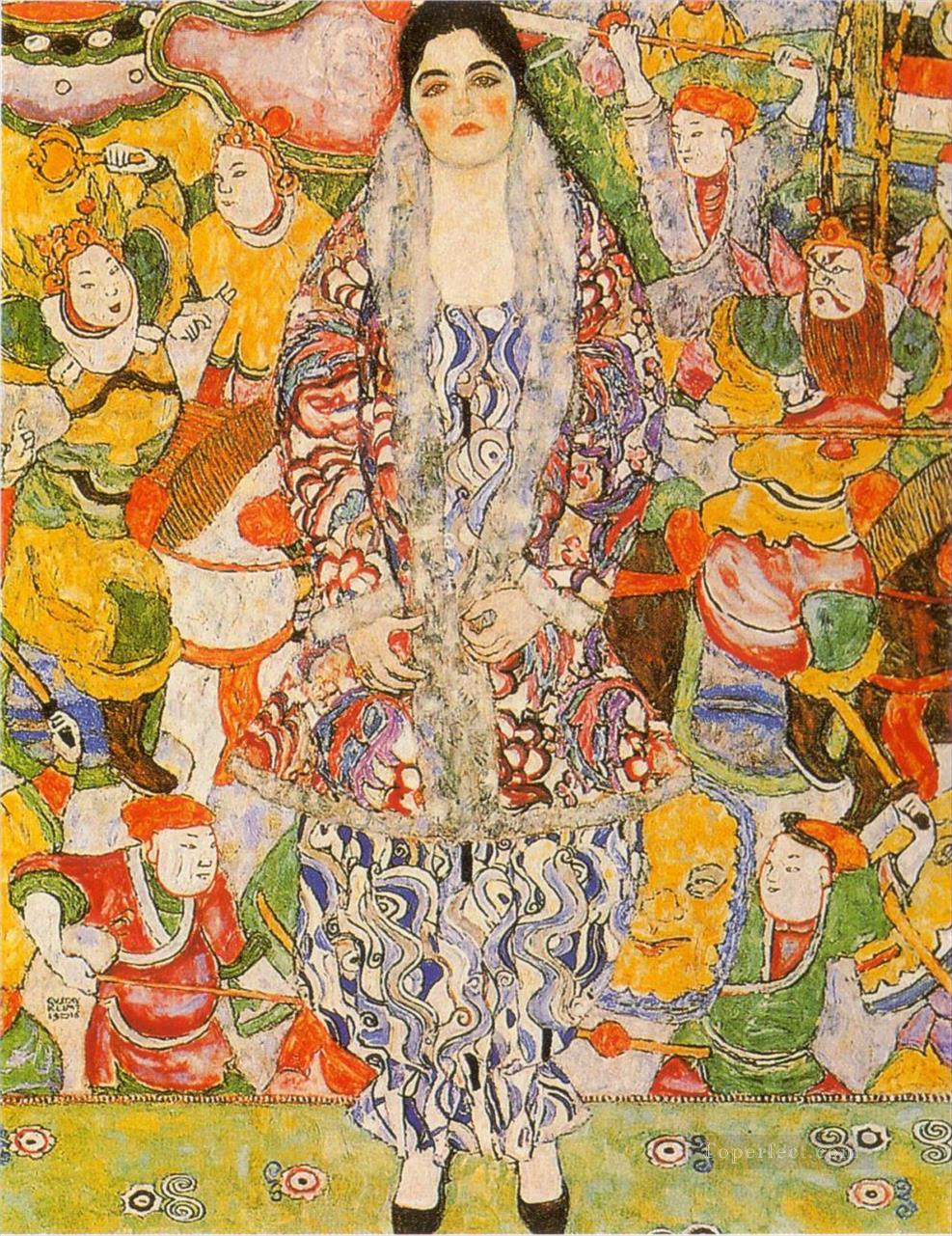 Fredericke Maria Beer Gustav Klimt Oil Paintings
