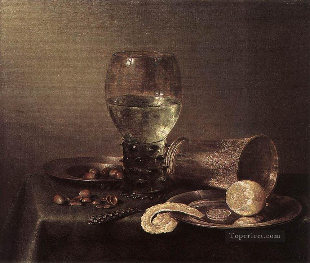 Still Life 1632 Willem Claeszoon Heda Oil Paintings