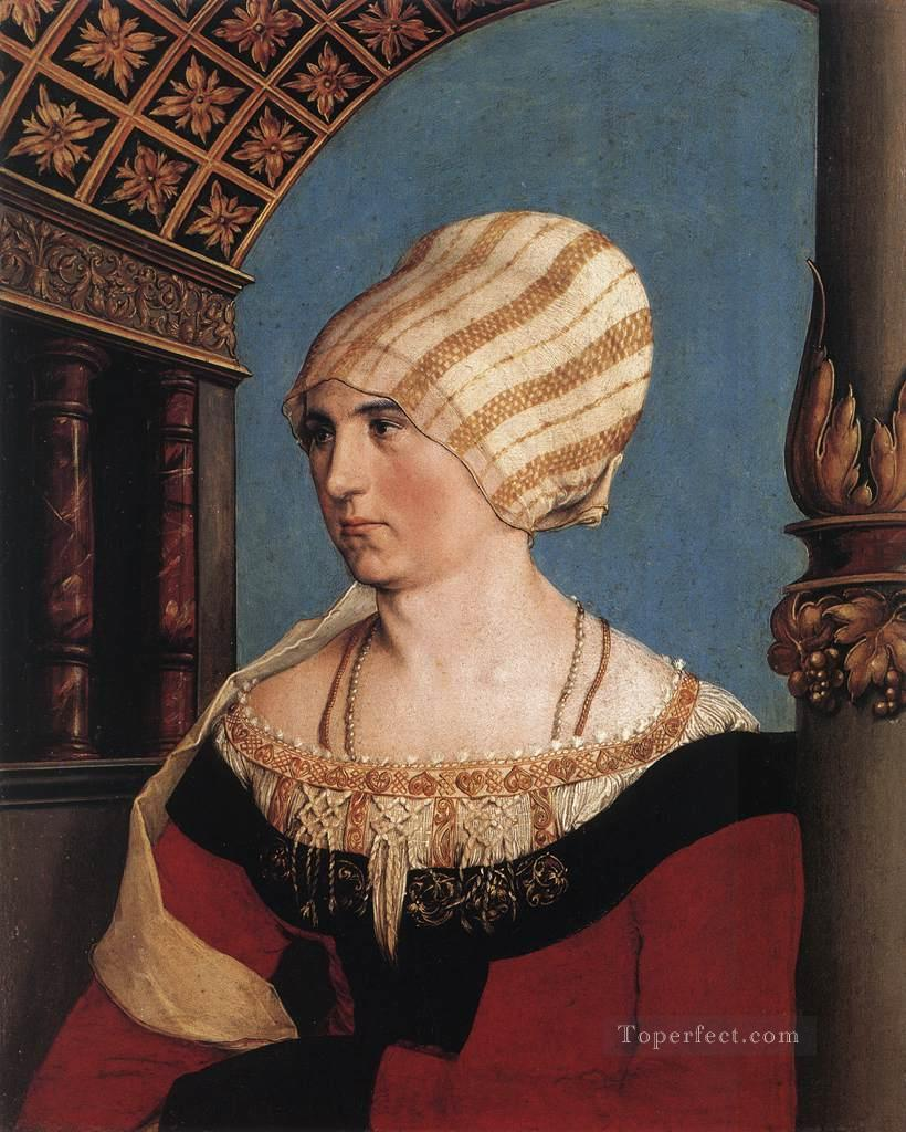 Portrait of Dorothea Meyer nee Kannengiesser Renaissance Hans Holbein the Younger Oil Paintings