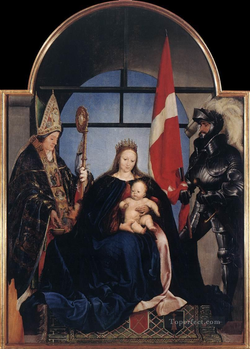 The Solothurn Madonna Hans Holbein the Younger Oil Paintings