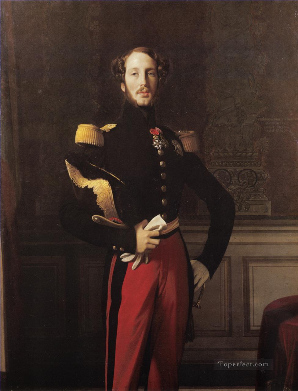 Ferdinand Philippe Louis Charles Henri Neoclassical Jean Auguste Dominique Ingres Oil Paintings