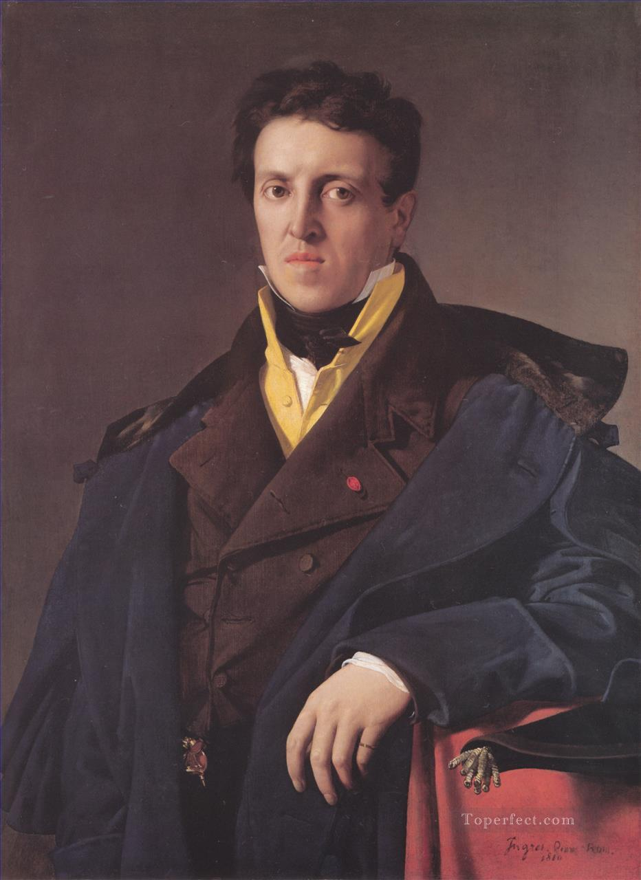 Marcotte dArgenteuil Neoclassical Jean Auguste Dominique Ingres Oil Paintings