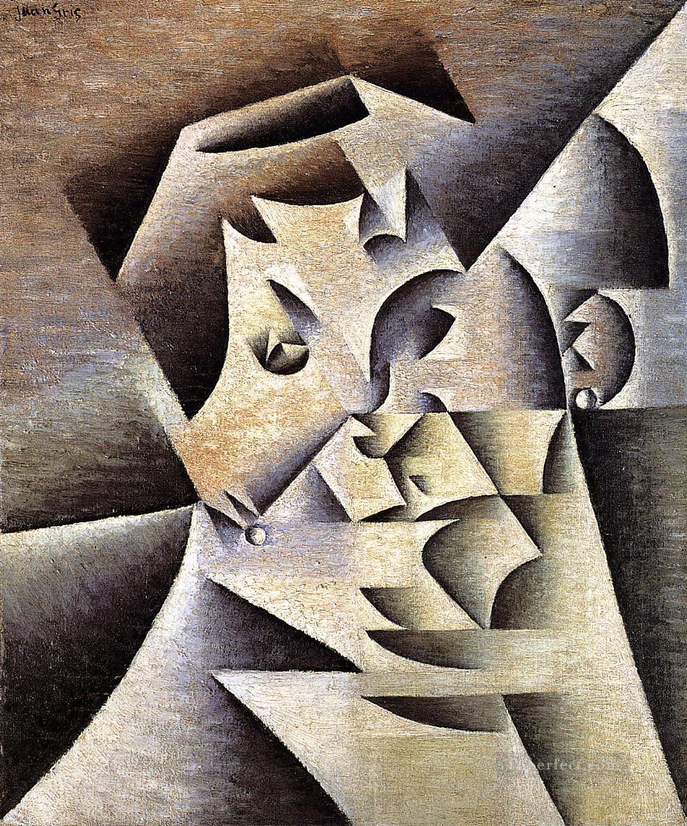 portrait of the artist s mother 1912 Juan Gris Oil Paintings