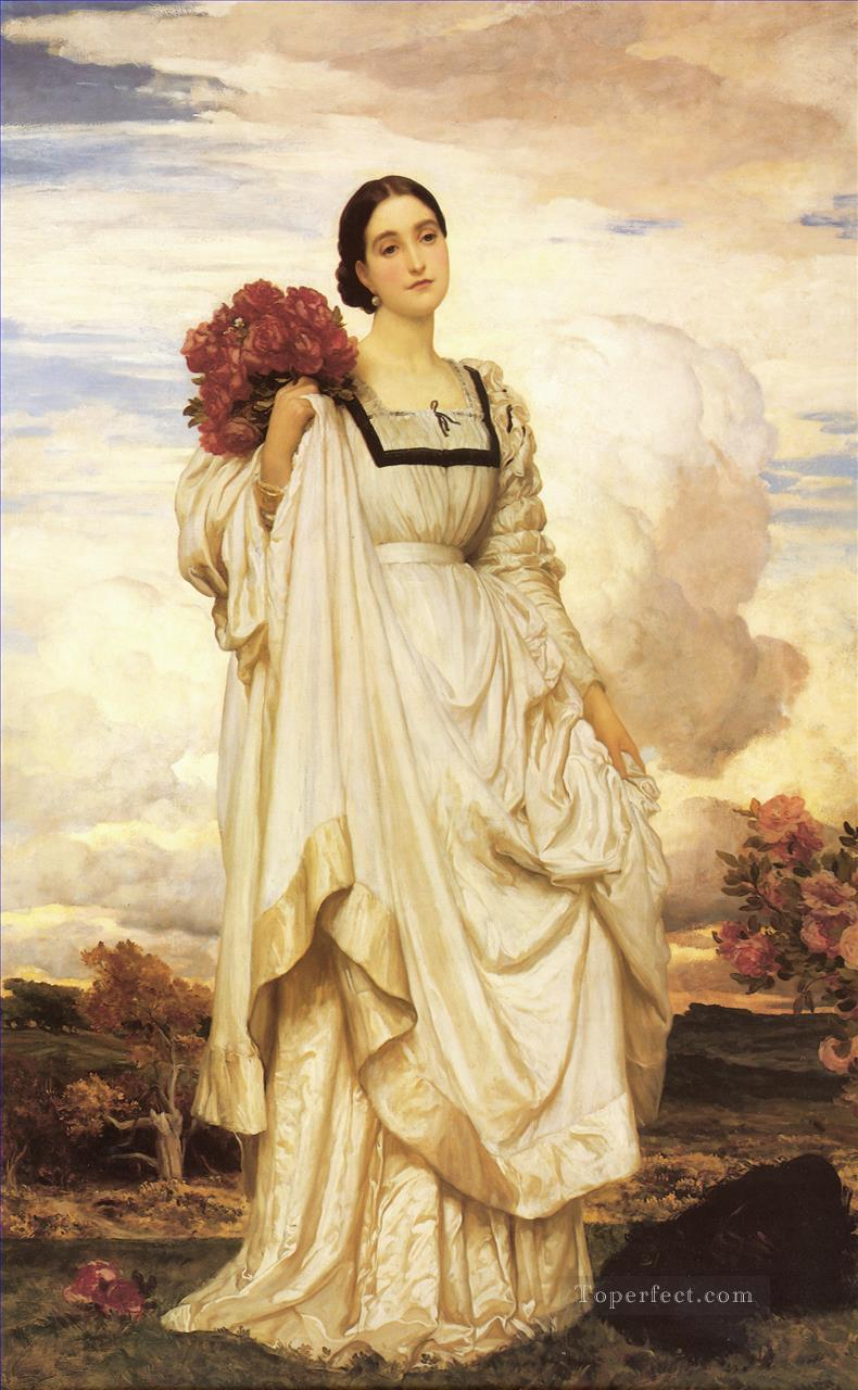 The Countess Brownlow Academicism Frederic Leighton Oil Paintings