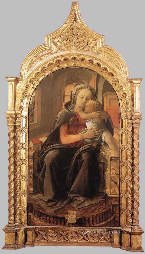 Madonna With Child Renaissance Filippo Lippi Oil Paintings