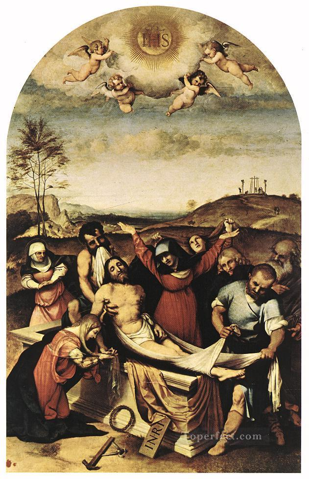 Deposition 1512 Renaissance Lorenzo Lotto Oil Paintings
