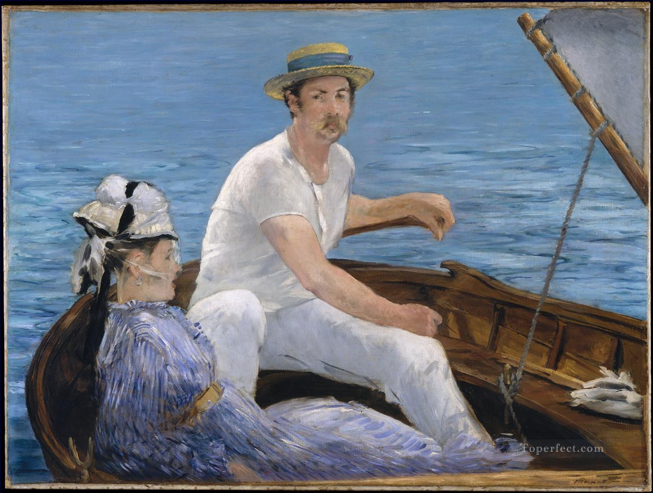 Boating Realism Impressionism Edouard Manet Oil Paintings