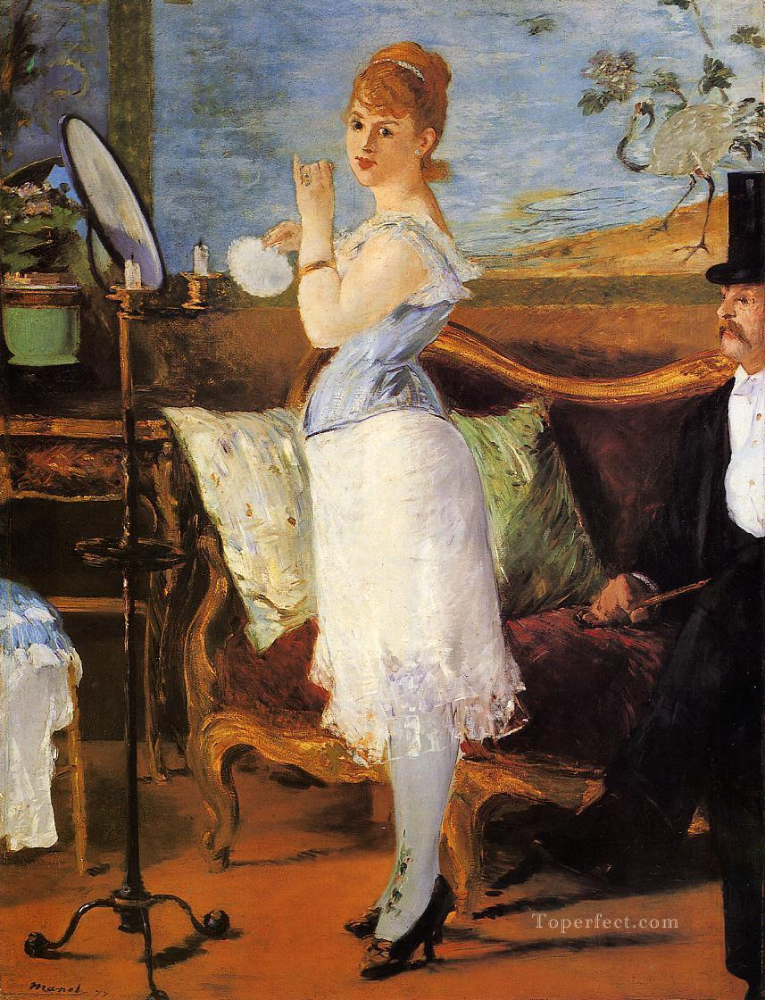 Nana Realism Impressionism Edouard Manet Oil Paintings