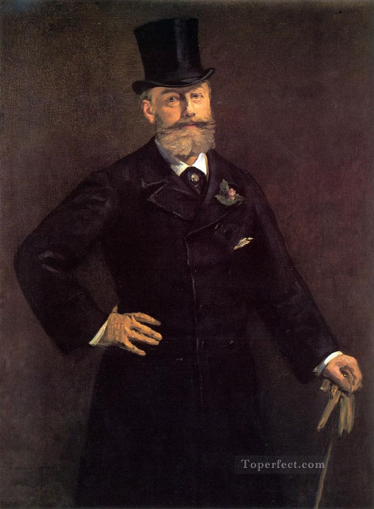 Portrait of Antonin Proust Realism Impressionism Edouard Manet Oil Paintings