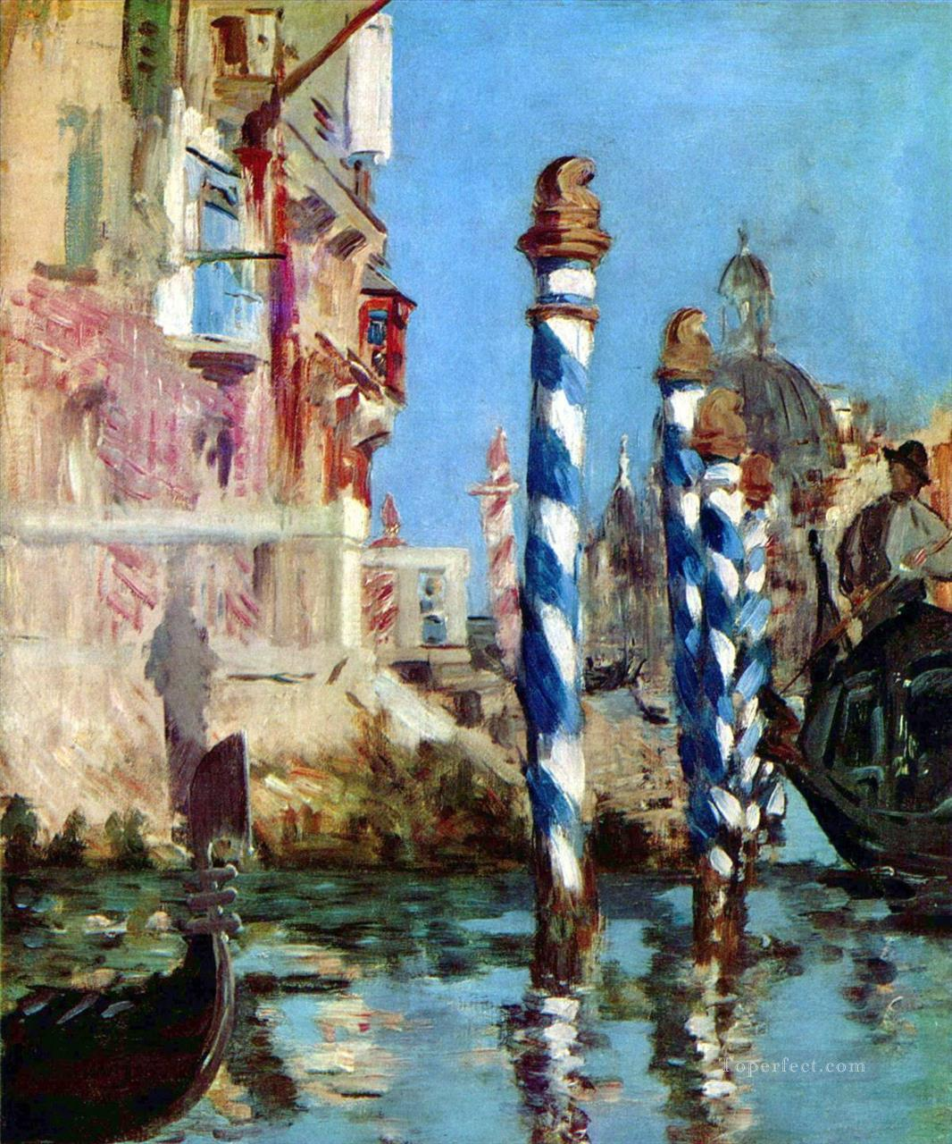 The Grand Canal Eduard Manet Oil Paintings