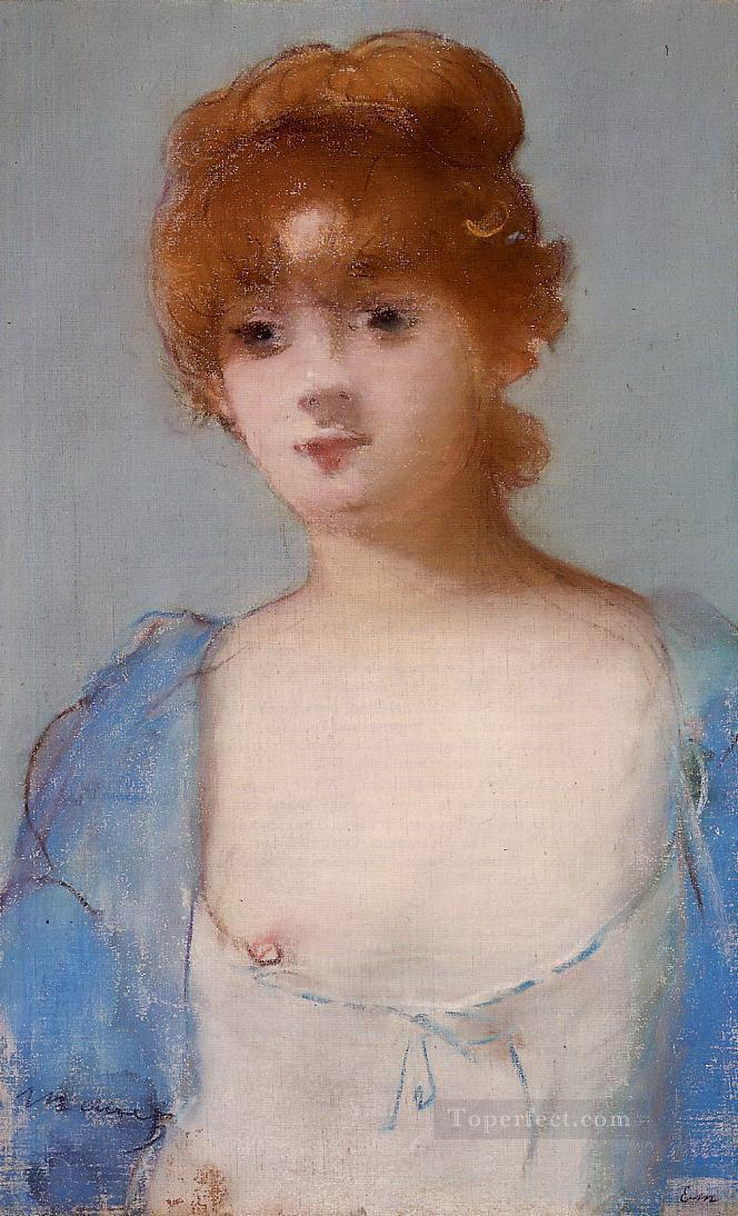 young woman in a negligee Eduard Manet Oil Paintings
