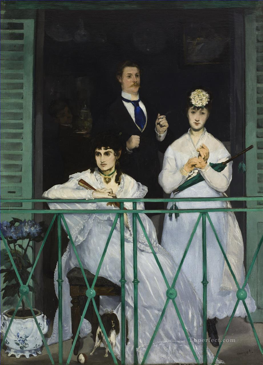 The Balcony Realism Impressionism Edouard Manet Oil Paintings