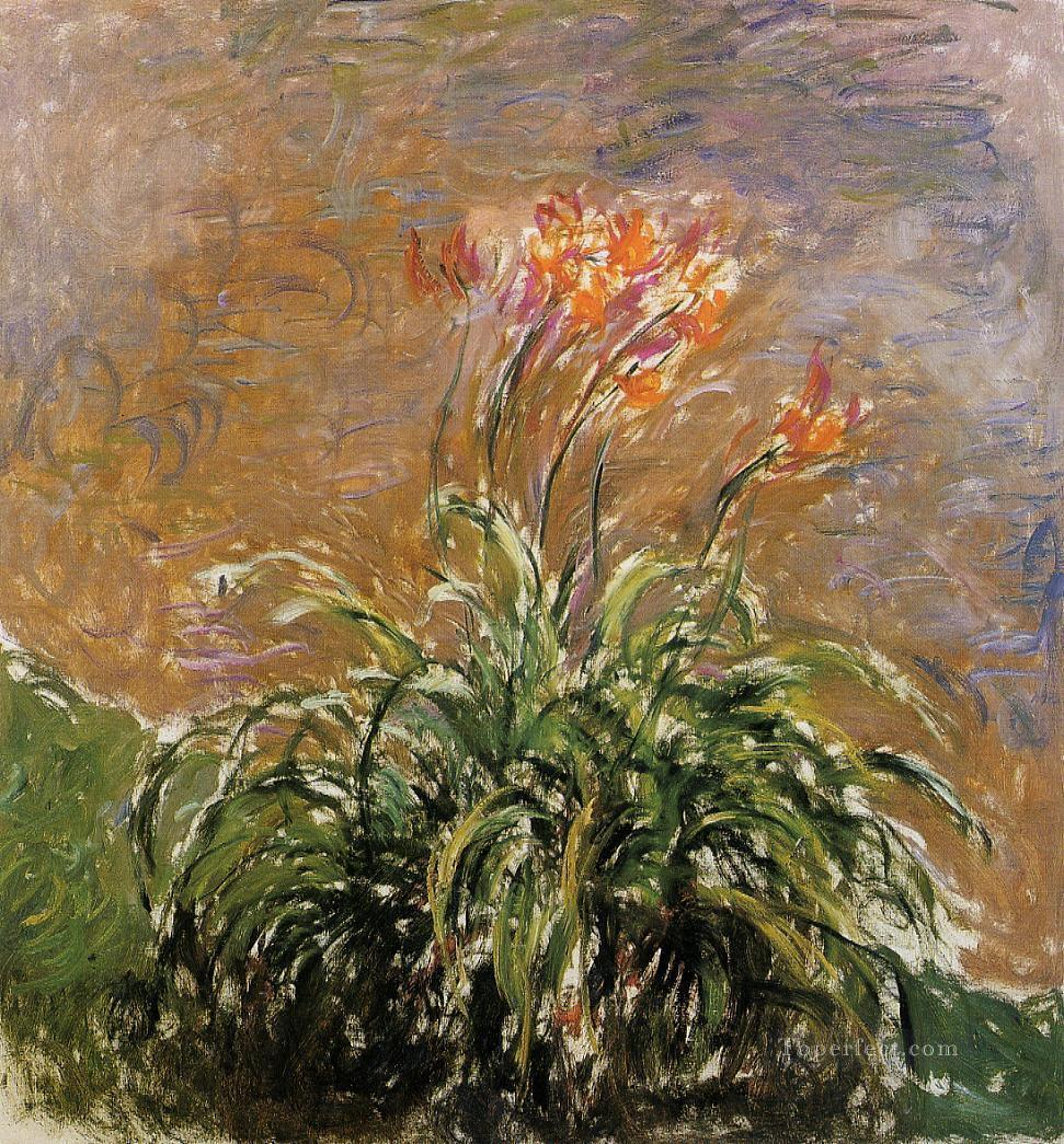 Hamerocallis Claude Monet Oil Paintings