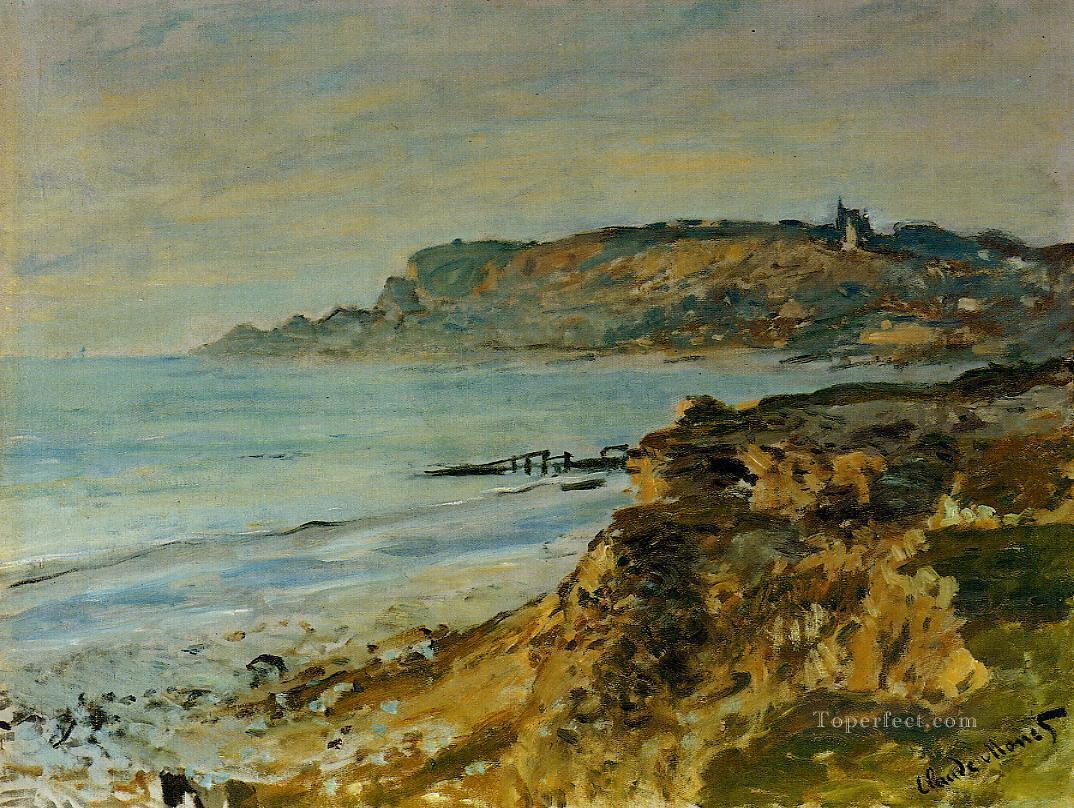 The Cliff at SainteAdresse Claude Monet Oil Paintings