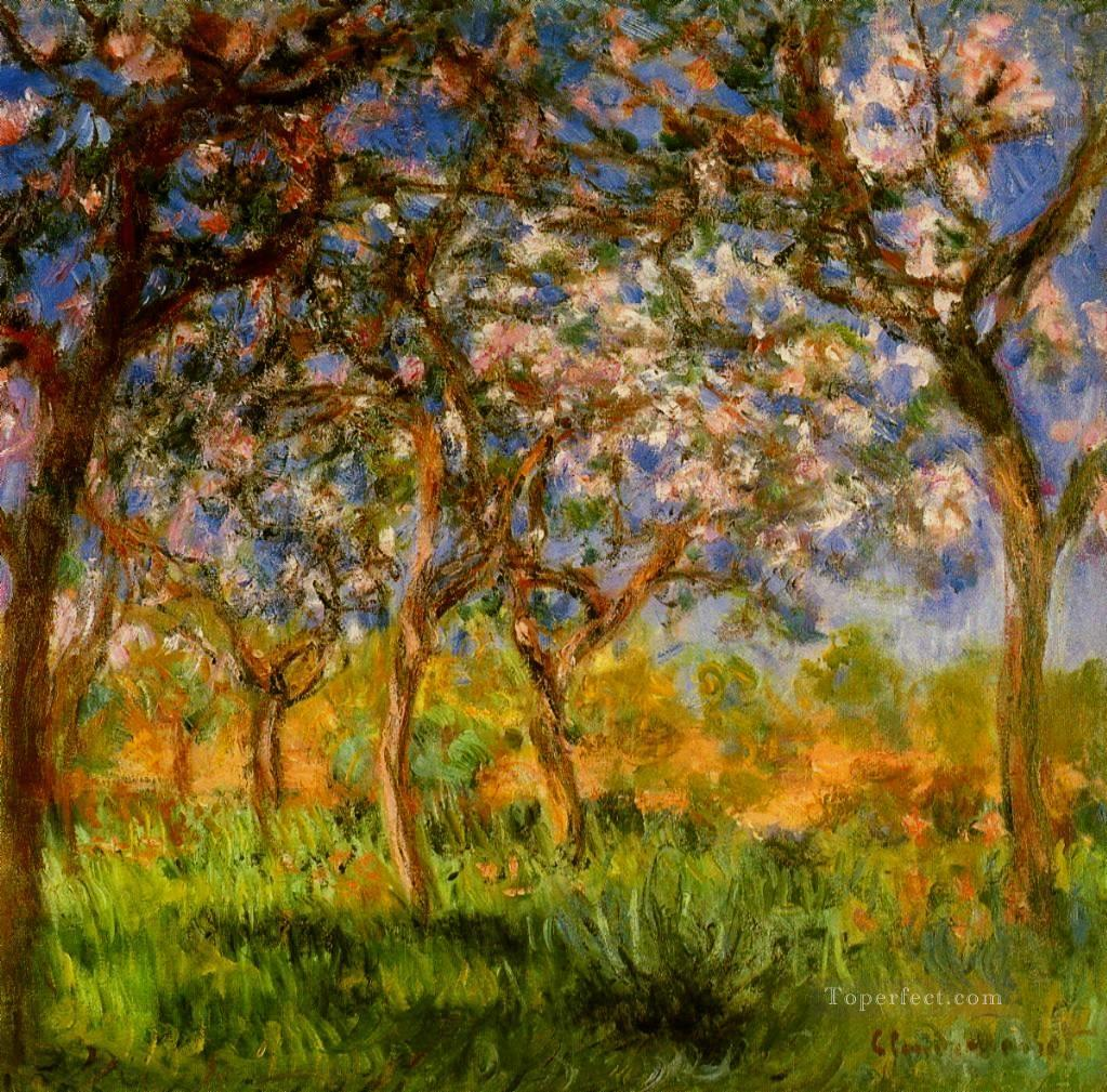 Giverny in Springtime Claude Monet Oil Paintings