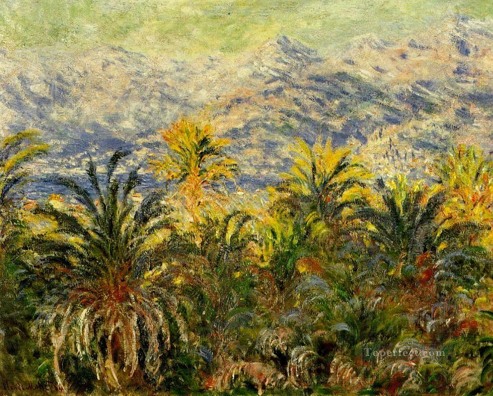 Palm Trees at Bordighera Claude Monet Oil Paintings