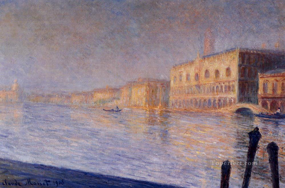 The Doges Palace Claude Monet Oil Paintings