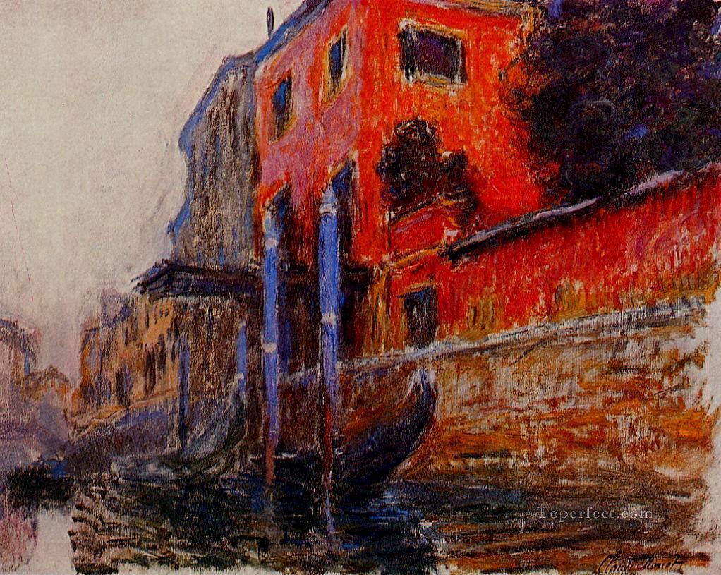 The Red House Claude Monet Oil Paintings