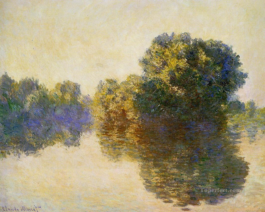 The Seine near Giverny 1897 Claude Monet Oil Paintings