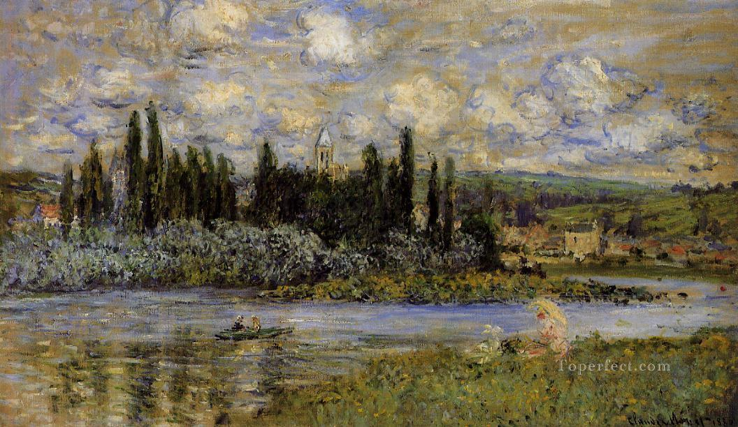 View of Vetheuil Claude Monet Oil Paintings