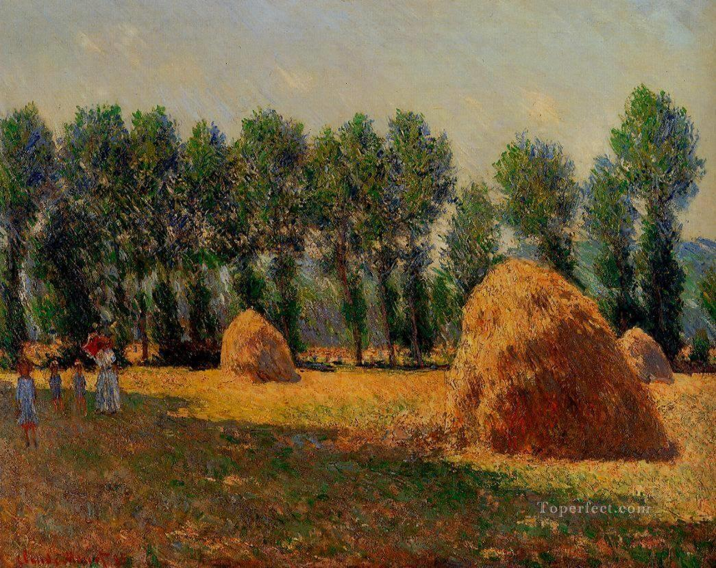 Haystacks at Giverny Claude Monet Oil Paintings