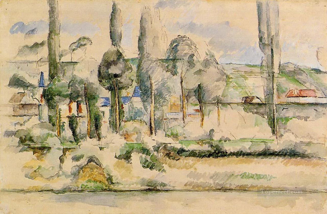 Chateau de Madan Paul Cezanne Oil Paintings