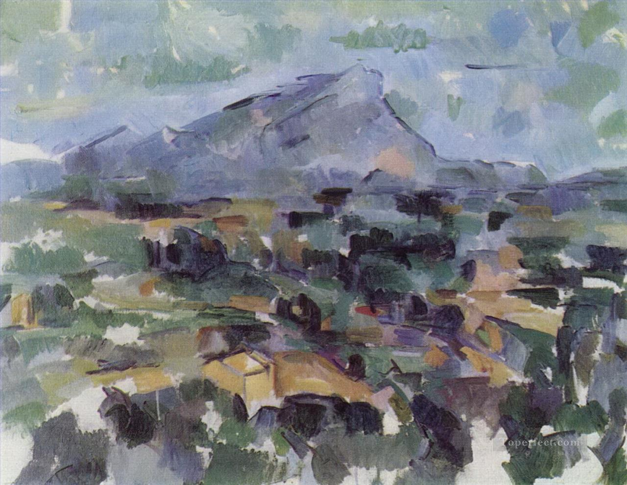 Mont Sainte Victoire 1906 Paul Cezanne Oil Paintings