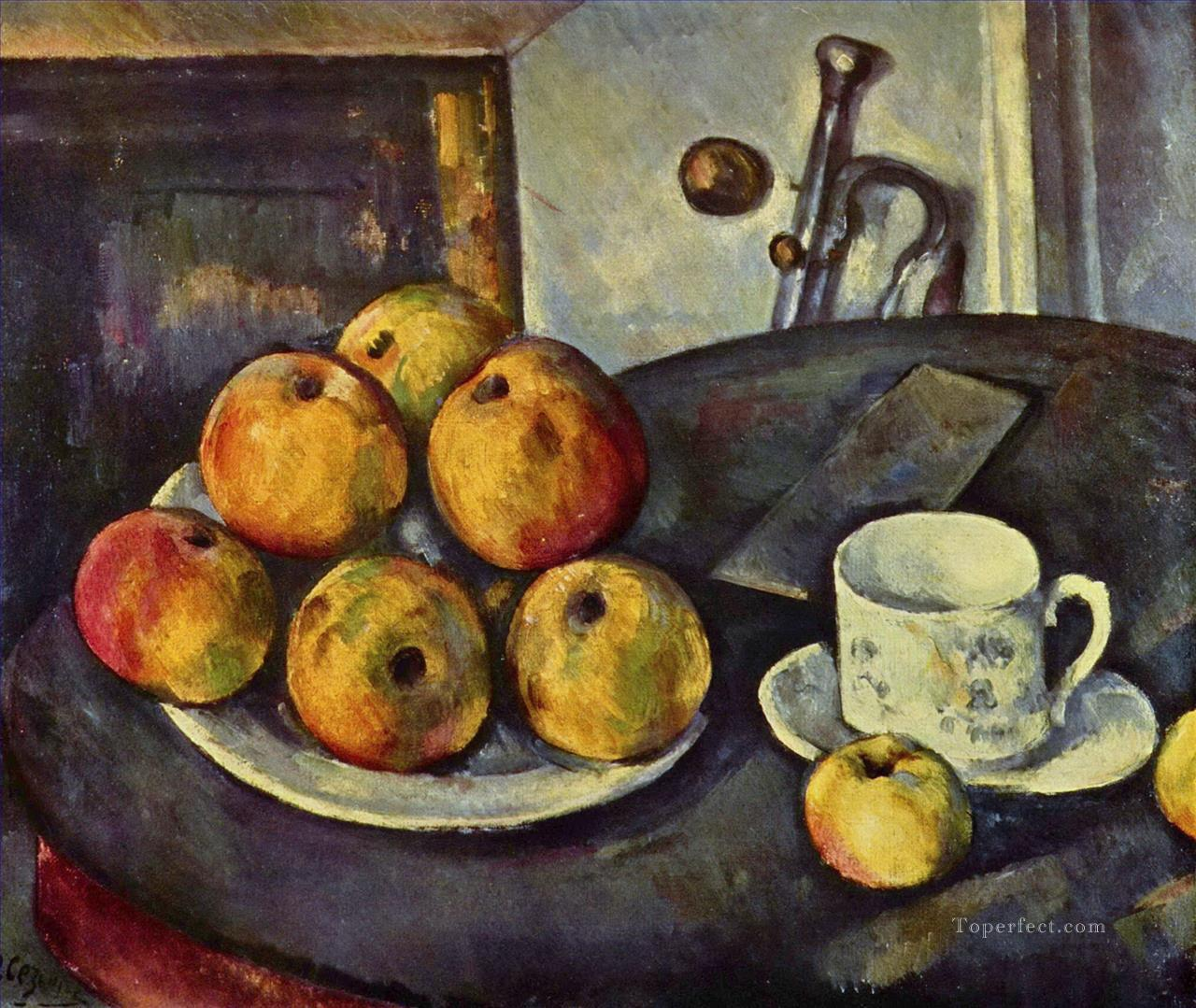 Still Life with Apples 2 Paul Cezanne Oil Paintings