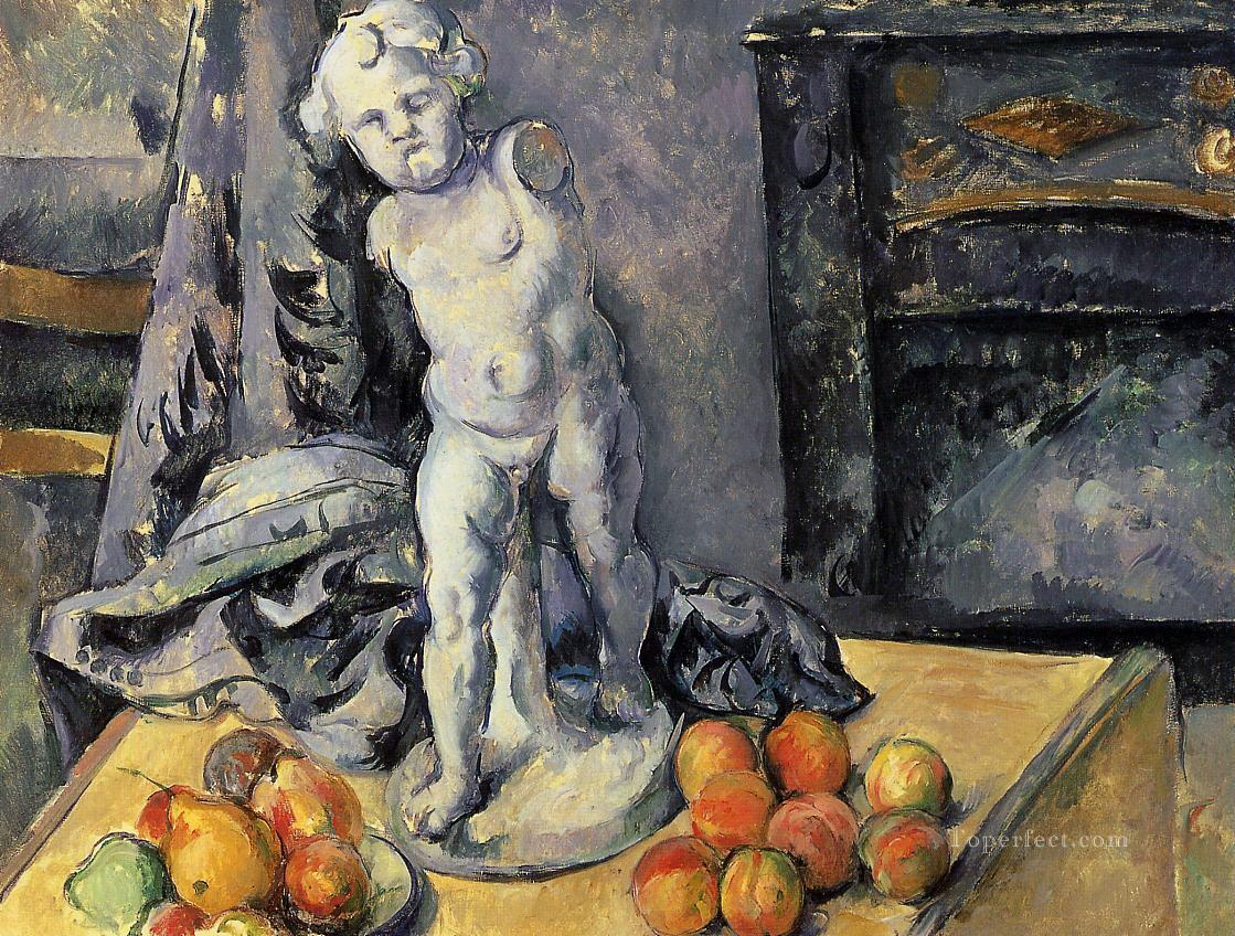 Still Life with Plaster Cupid 2 Paul Cezanne Oil Paintings
