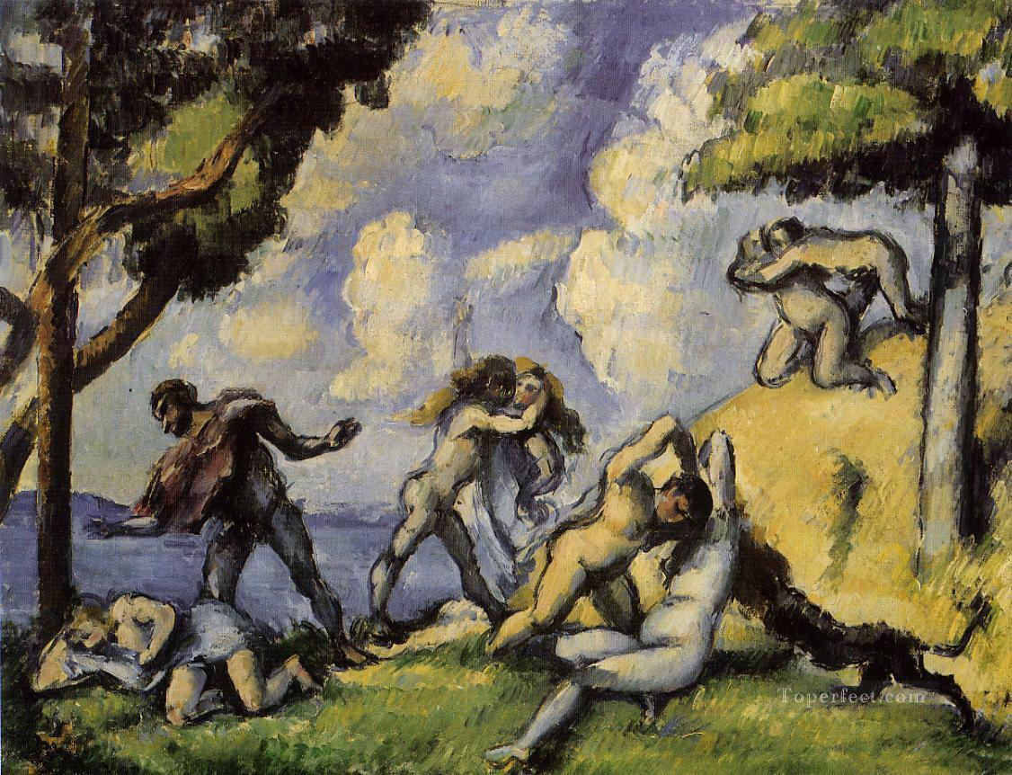 The Battle of Love Paul Cezanne Oil Paintings