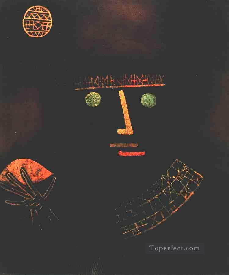 Black Knight Paul Klee Oil Paintings
