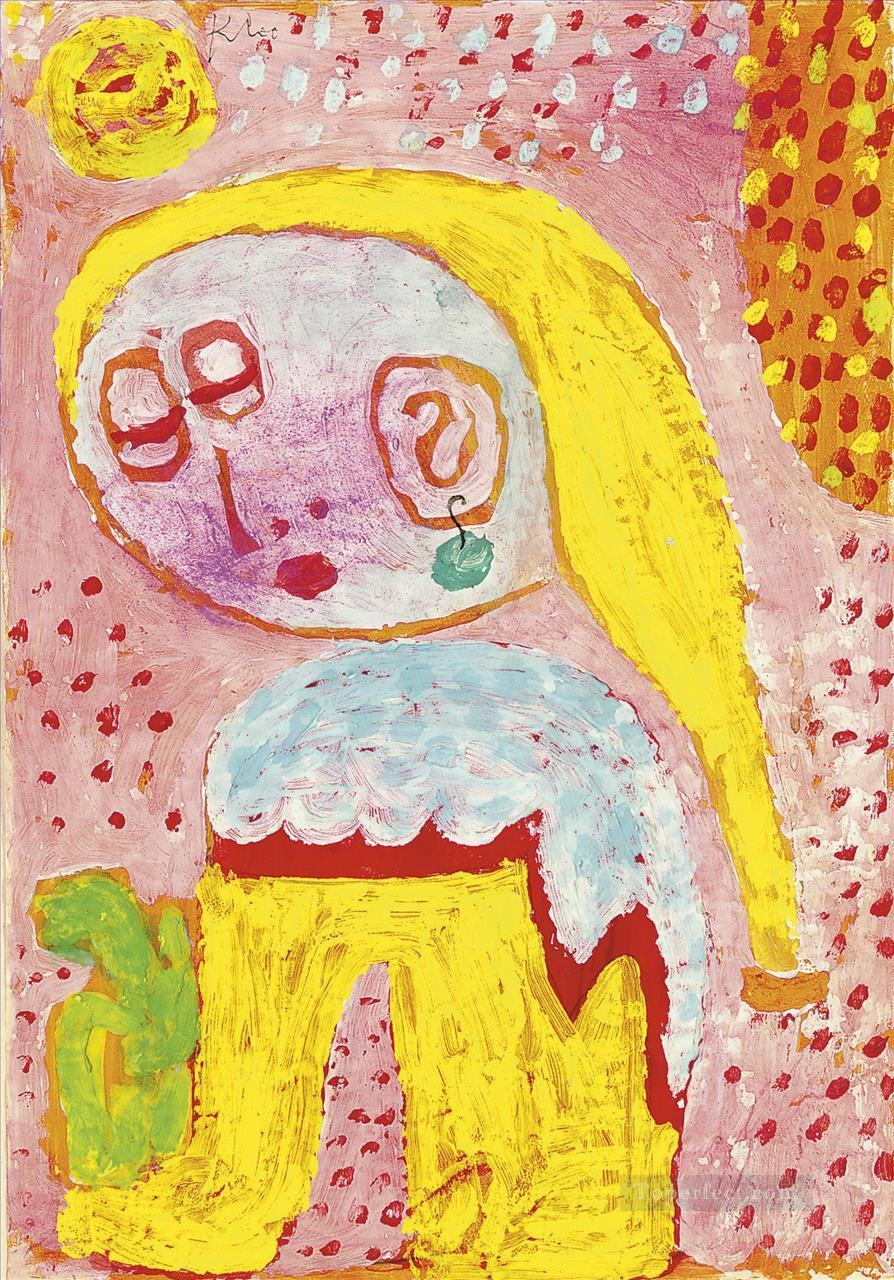 Magdalena before the conver Paul Klee Oil Paintings