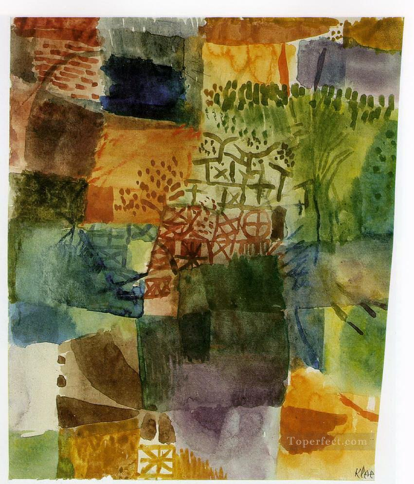 Remembrance of a Garden Paul Klee Oil Paintings