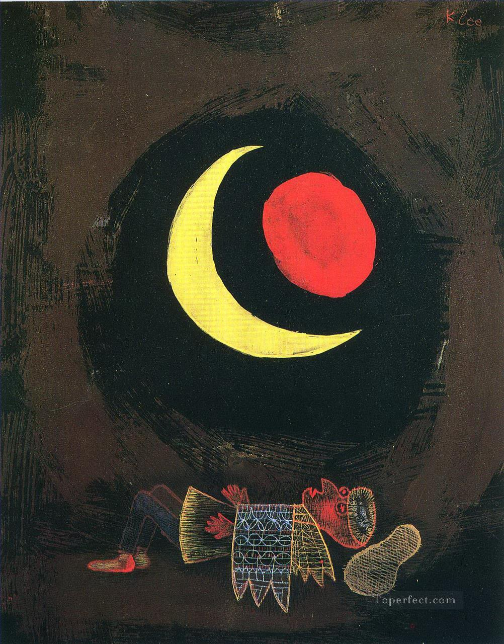 Strong Dream Paul Klee Oil Paintings