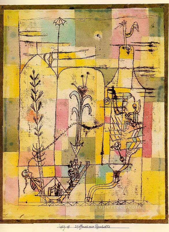 Tale of Hoffmann Paul Klee Oil Paintings