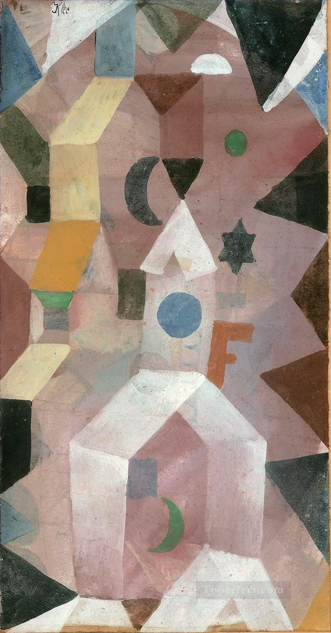The Chapel Paul Klee Oil Paintings