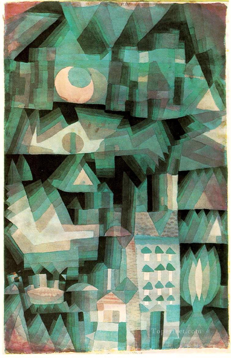 Dream City Paul Klee Oil Paintings
