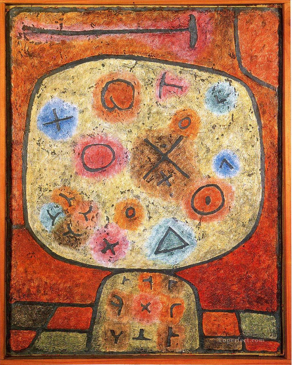 Flowers in Stone Paul Klee Oil Paintings