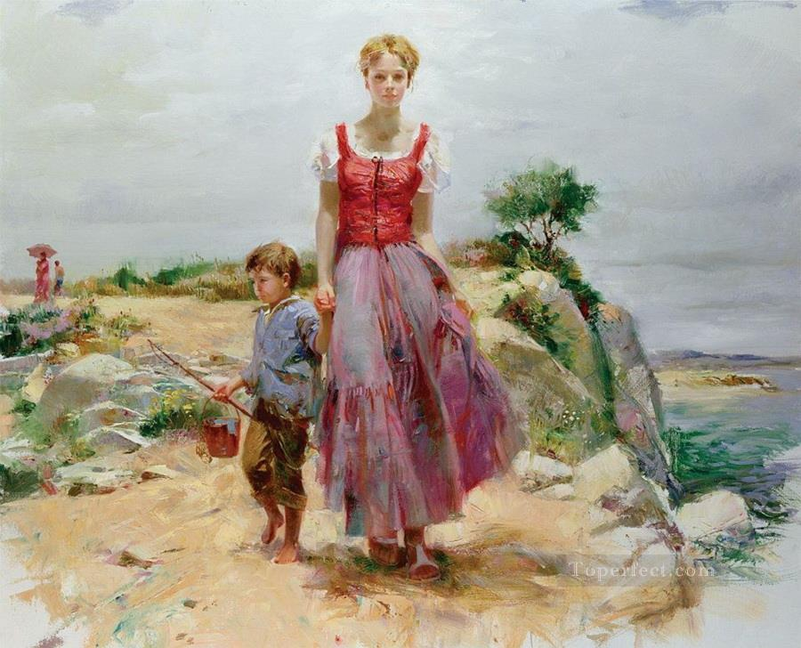 Image result for painting of mother and sons