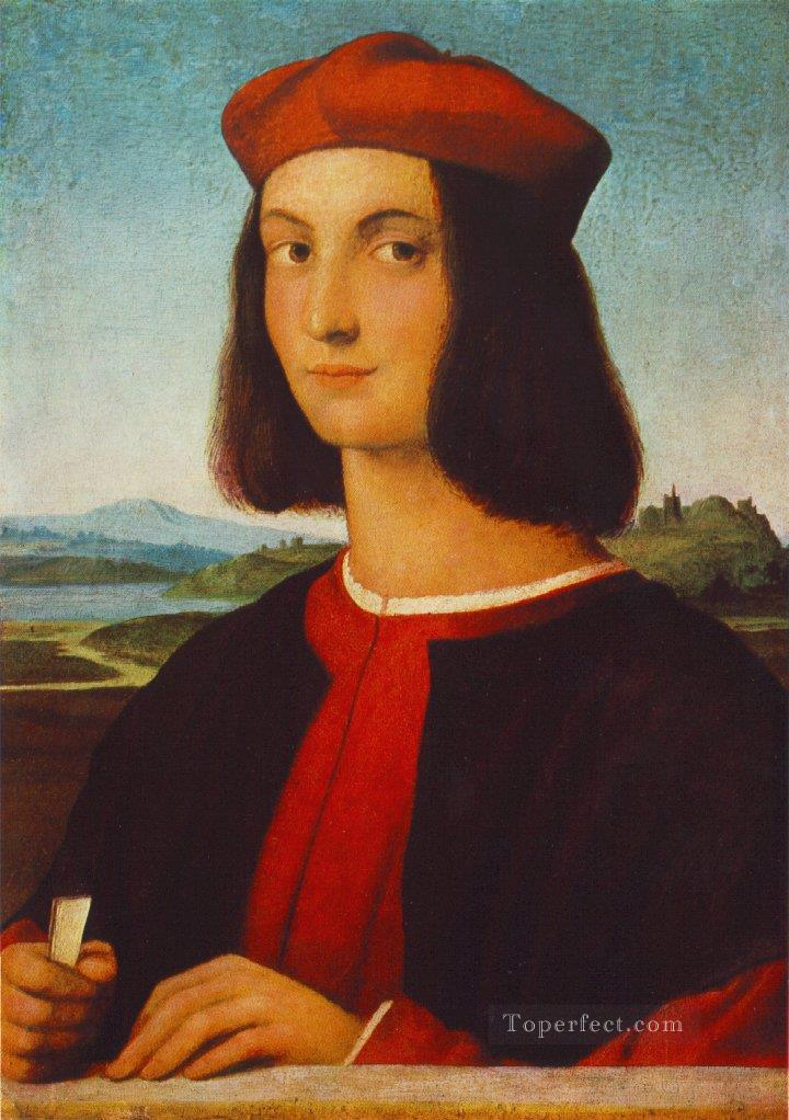 Portrait of Pietro Bembo Renaissance master Raphael Oil Paintings