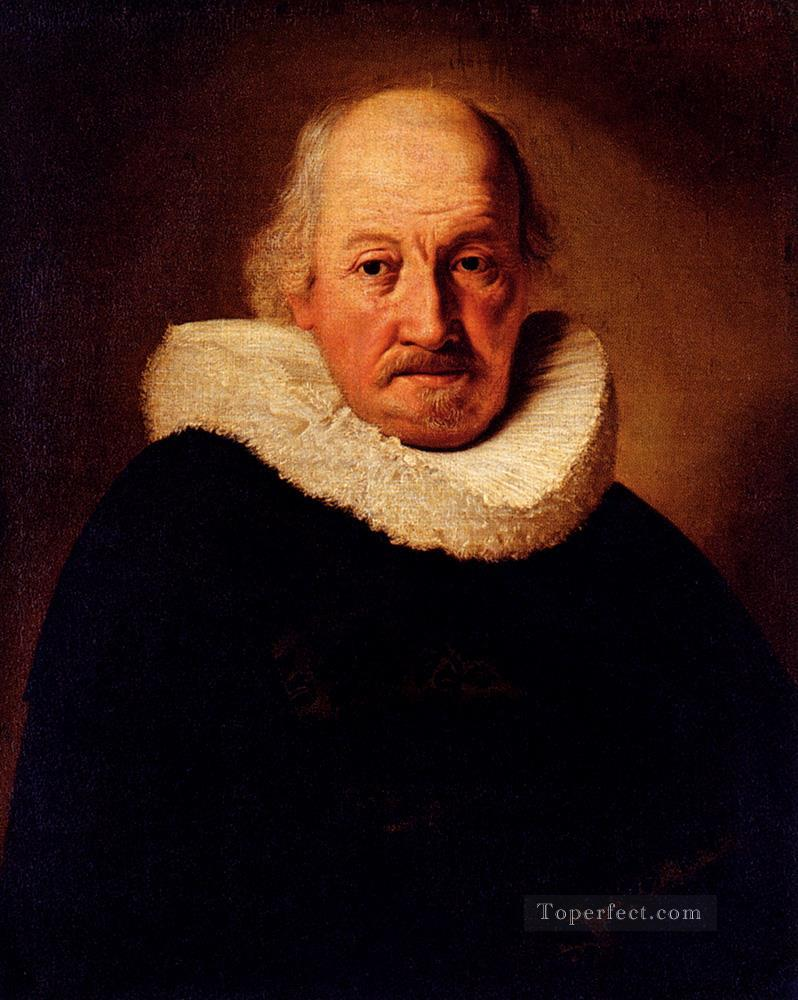 Portrait Of An Old Man Rembrandt Oil Paintings