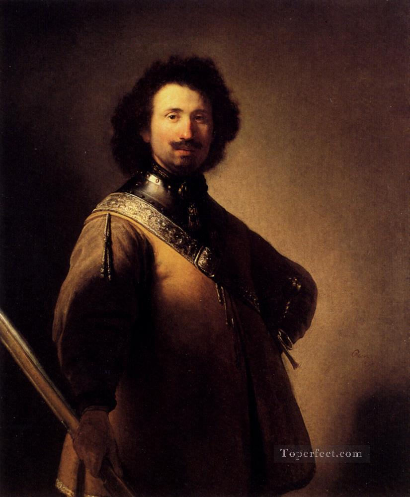 Portrait Of Joris De Caullery Rembrandt Oil Paintings