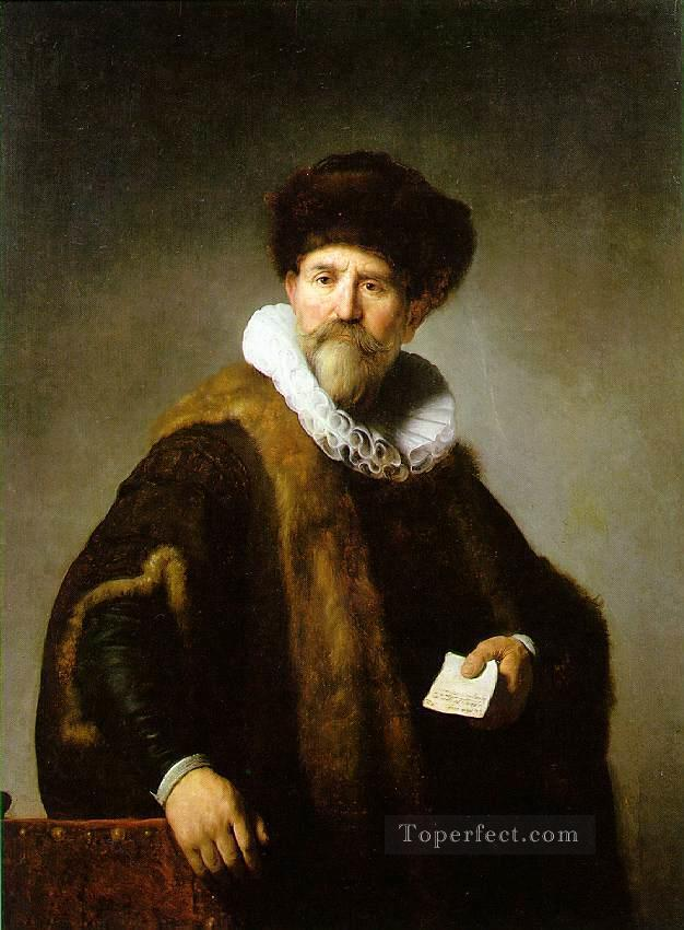 Portrait of Nicolaes Ruts Rembrandt Oil Paintings