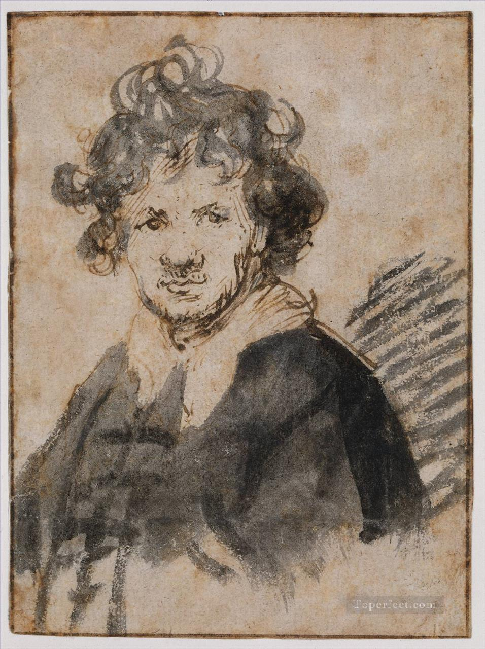 Self Portrait 16289 Rembrandt Oil Paintings