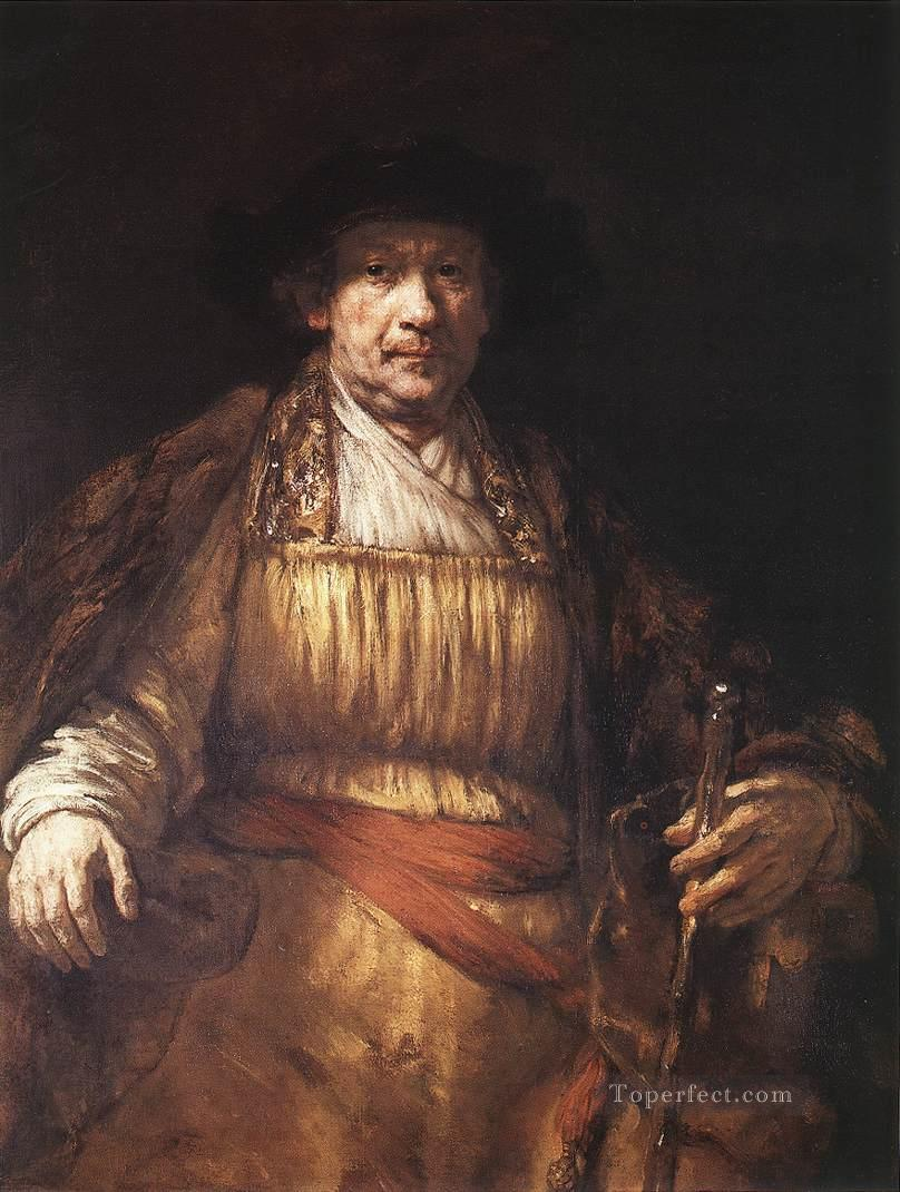 Self Portrait 1658 Rembrandt Oil Paintings