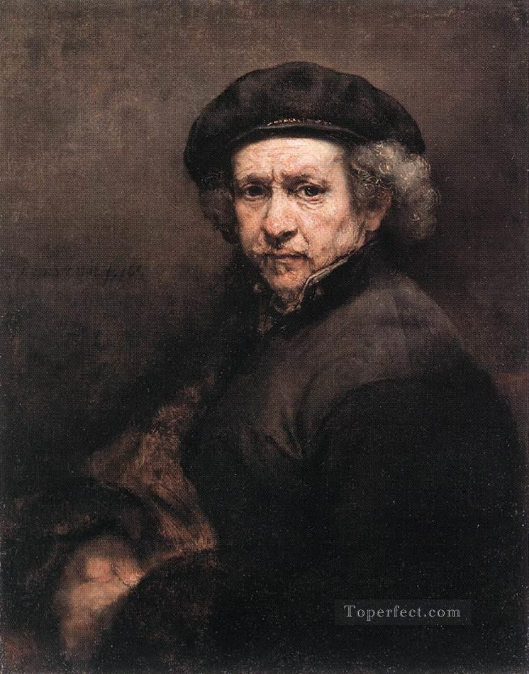 Self Portrait 1659 Rembrandt Oil Paintings