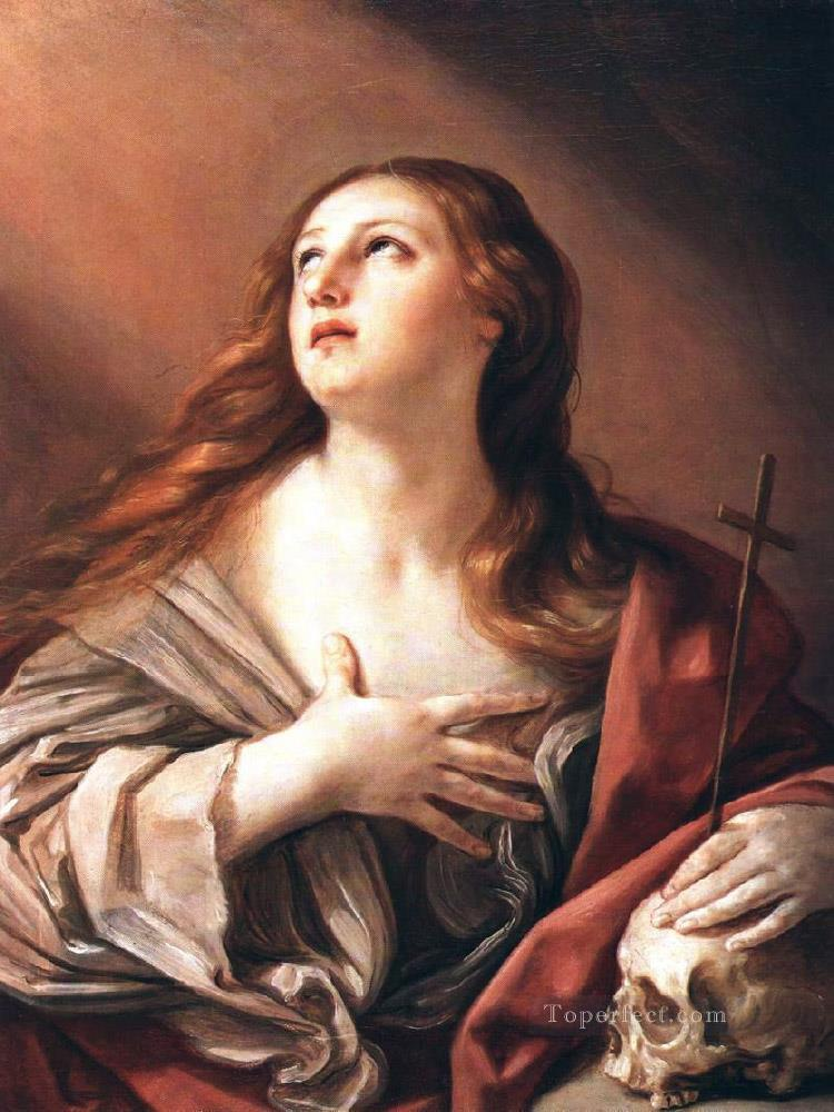 The Penitent Magdalene Baroque Guido Reni Oil Paintings